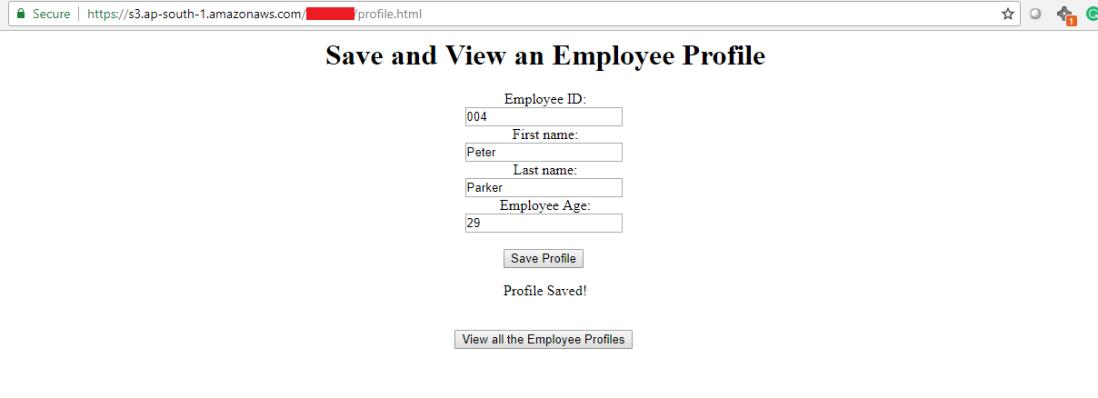 How create a serverless website using AWS Lambda, AWS S3